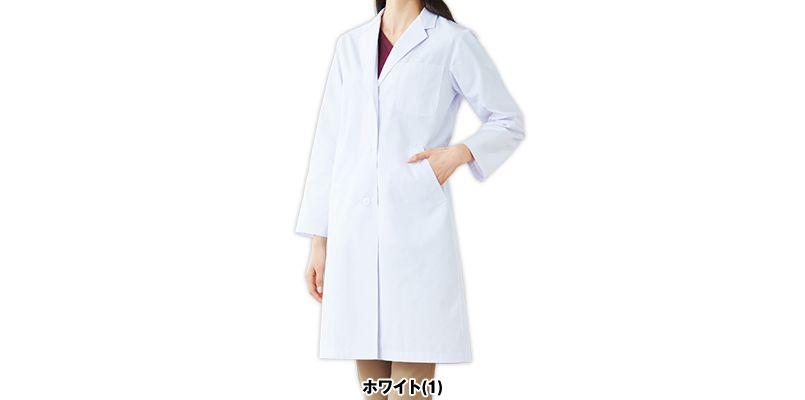 2530PO FOLK(フォーク) レディース診察衣シングル(女性用) 色展開