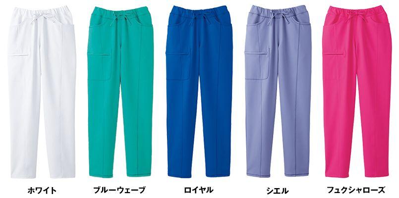 [在庫限り/返品不可]CH351 FOLK(フォーク)×CHEROKEE(チェロキー) スクラブパンツ 総ゴム(女性用) 色展開