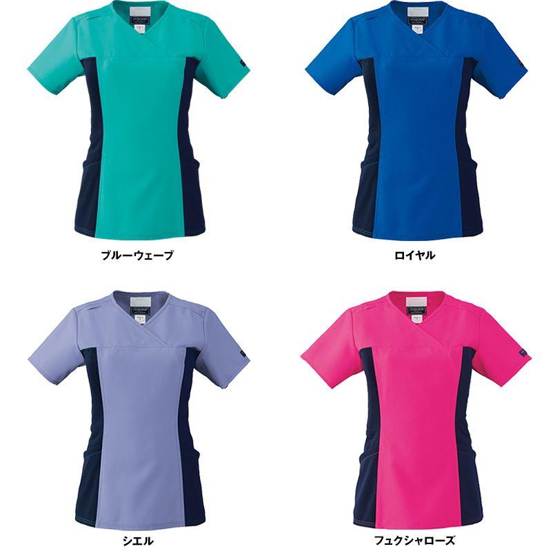 [在庫限り]CH750 FOLK(フォーク)×CHEROKEE(チェロキー) レディーススクラブ(女性用) 色展開