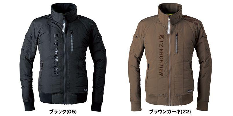 9360 アイズフロンティア 高密度フェイクダウン防寒ジャケット 色展開