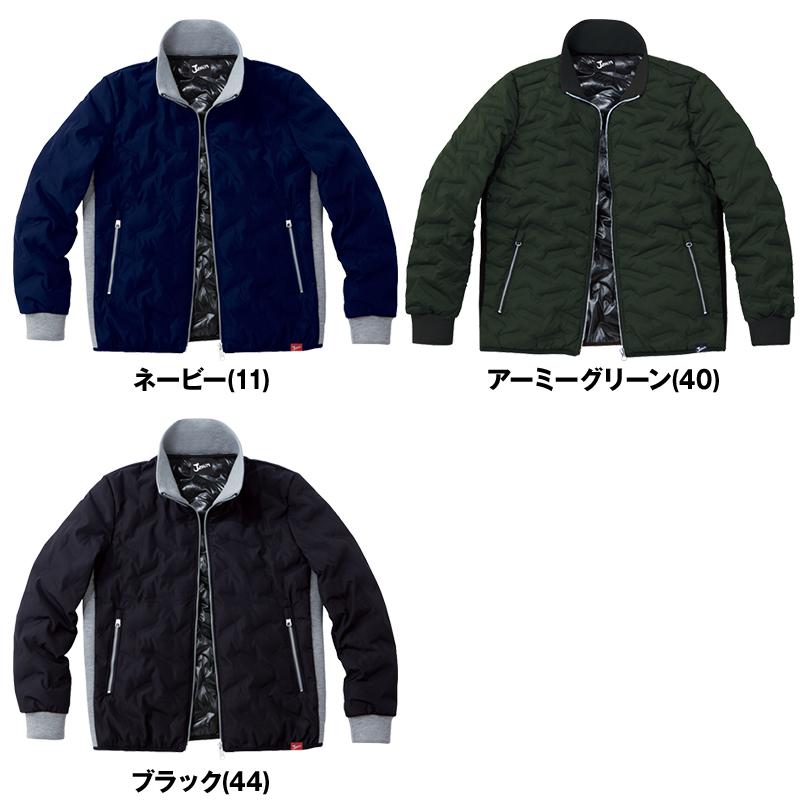 自重堂Jawin 58600 [秋冬用]シームレス防寒ジャンパー 色展開