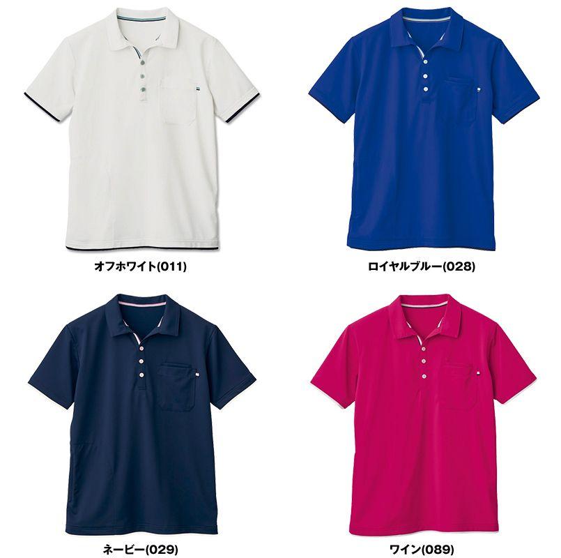 自重堂 WH90718 WHISEL ドライ半袖ポロシャツ(男女兼用) 色展開