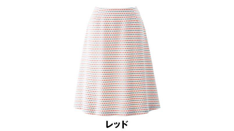 en joie(アンジョア) 56564 トリコロールカラーのブロックチェックで大人かわいいフレアースカート 色展開