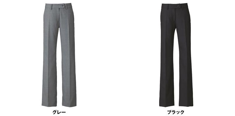 ENJOY EAL585 [通年]フレアーストレートパンツ[無地] 色展開
