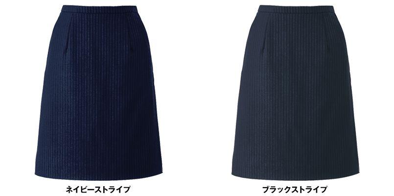 EAS422 enjoy スカート ストライプ 色展開