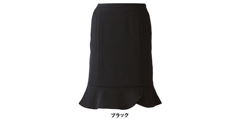 EAS515 enjoy マーメイドスカート 無地 色展開