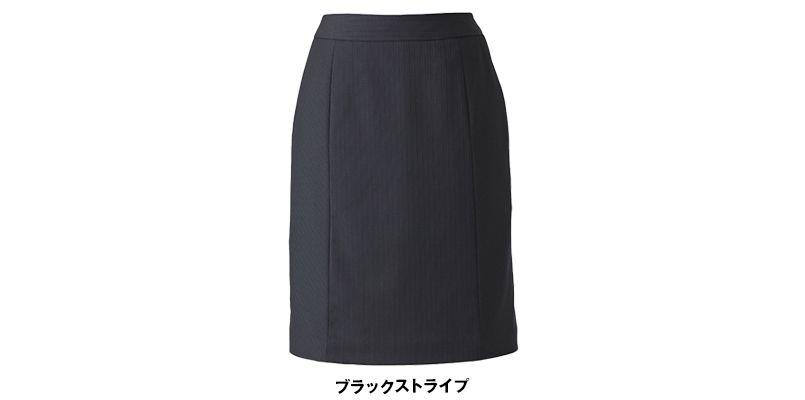 EAS520 enjoy セミタイトスカート ストライプ 色展開