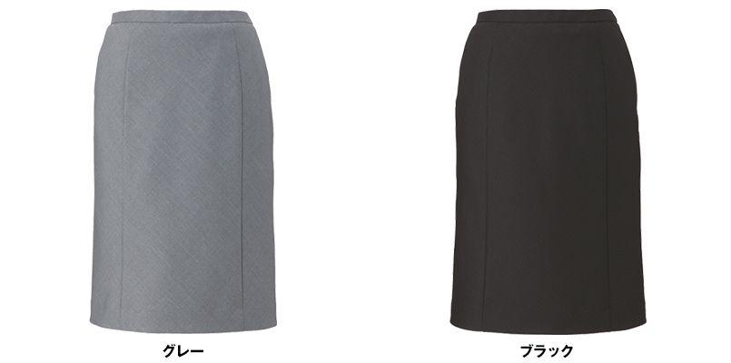 EAS583 enjoy [通年]セミタイトスカート ドット 色展開