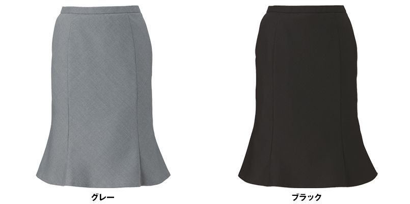 EAS584 enjoy [通年]マーメイドスカート ドット 色展開