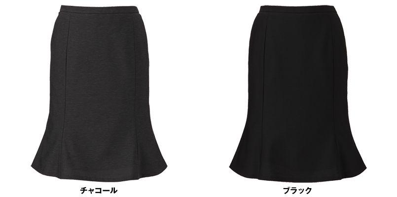 ENJOY EAS589 [通年]マーメイドスカート[無地] 色展開