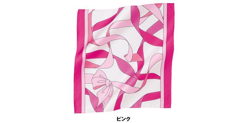 EAZ505 enjoy ピンクリボン オリジナルミニスカーフ 色展開
