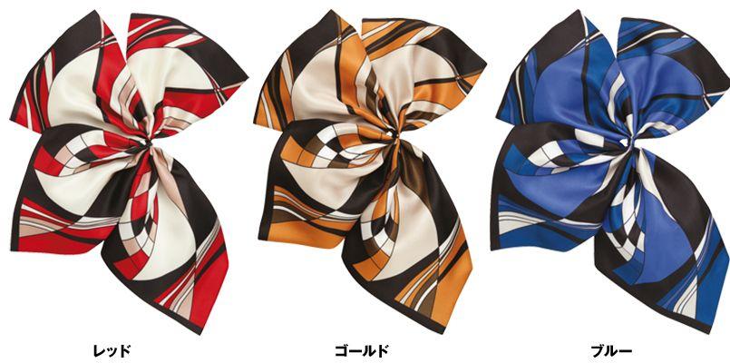 ENJOY EAZ541 ほどよいボリューム感がさりげなく大人の魅力的なミニスカーフ 色展開