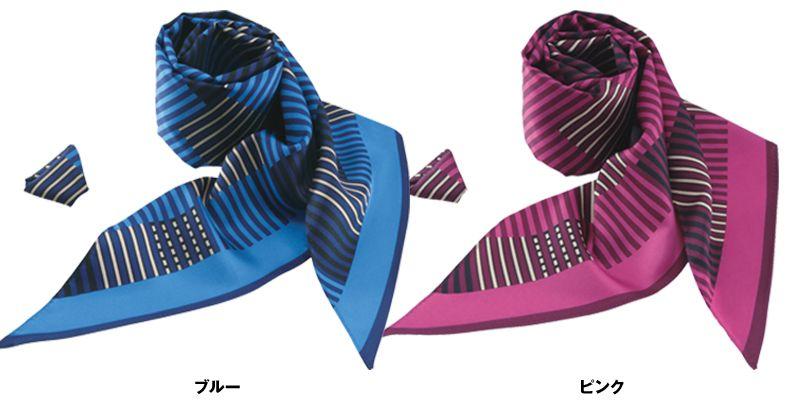 EAZ563 enjoy 自在にアレンジして、もっと優しく華やかなスカーフ 色展開