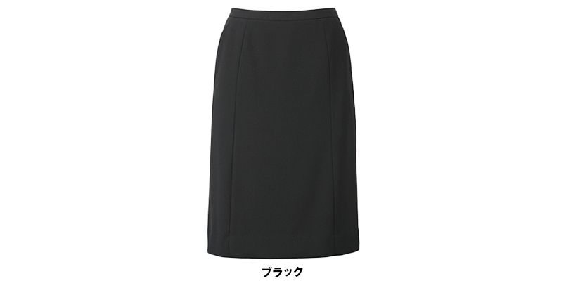ESS458 enjoy セミタイトスカート 無地 色展開