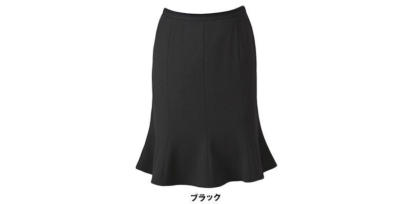 ENJOY ESS469 [春夏用]マーメイドスカート 無地 色展開