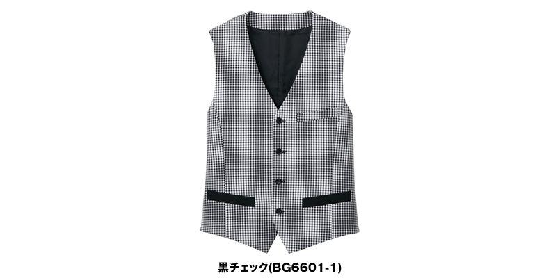 BG6601 MONTBLANC ベスト(男性用) 色展開