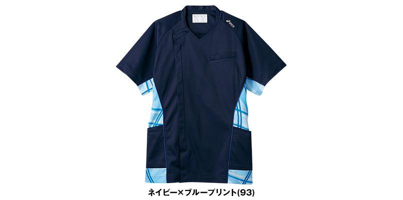 CHM858 アシックス(asics) スクラブ/半袖(男性用) 色展開