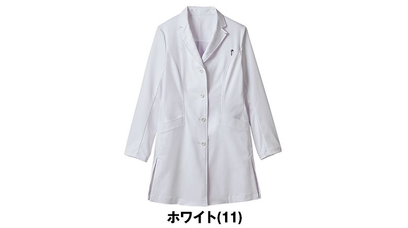 JK112 JUNKO KOSHINO(ジュンコ コシノ) 長袖ドクターコート(女性用) 色展開