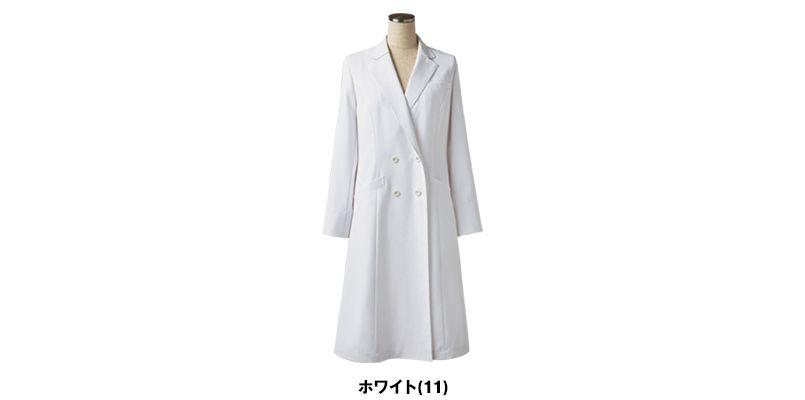 LW101 ローラ アシュレイ 長袖ドクターコート(女性用) 色展開