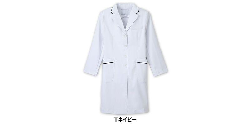 FT4550 ナガイレーベン(nagaileben) フェルネ シングル診察衣長袖(女性用) 色展開