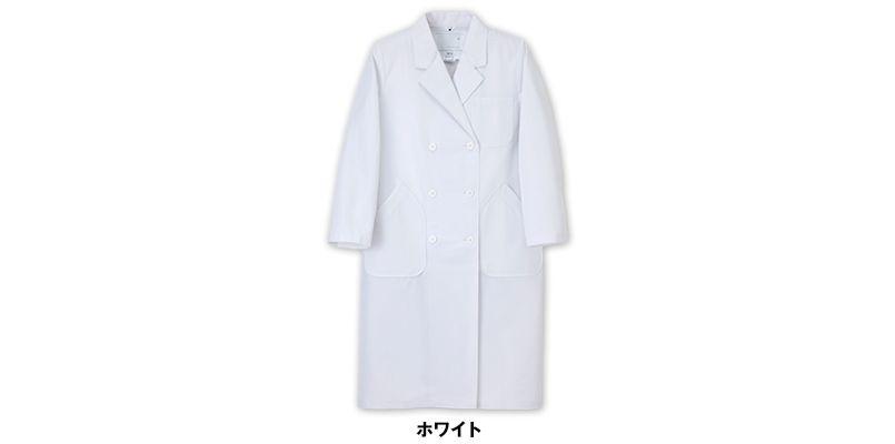 HK12 ナガイレーベン(nagaileben) ホスパーニット ダブル診察衣/長袖(女性用) 色展開