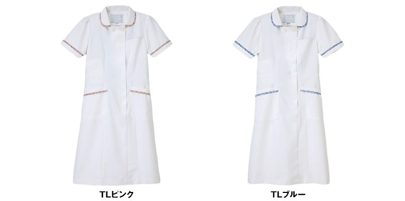 LBP4327 ナガイレーベン(nagaileben) リバティプリント ワンピース(女性用) 色展開