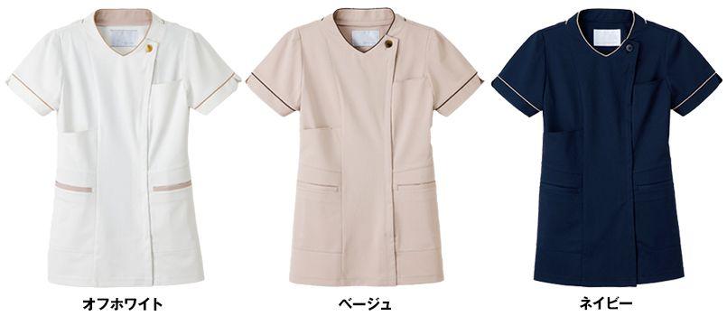 LH6272 ナガイレーベン(nagaileben) ビーズベリー チュニック半袖(女性用) 色展開
