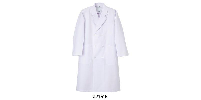 TAP60 ナガイレーベン(nagaileben) ドクタートップ ダブル診察衣長袖(男性用) 色展開