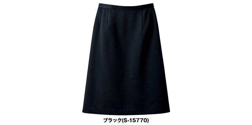 SELERY(セロリー) S-15770 [秋冬・通年]夏涼しく、冬暖かい!ニットのAラインスカート[無地] 色展開