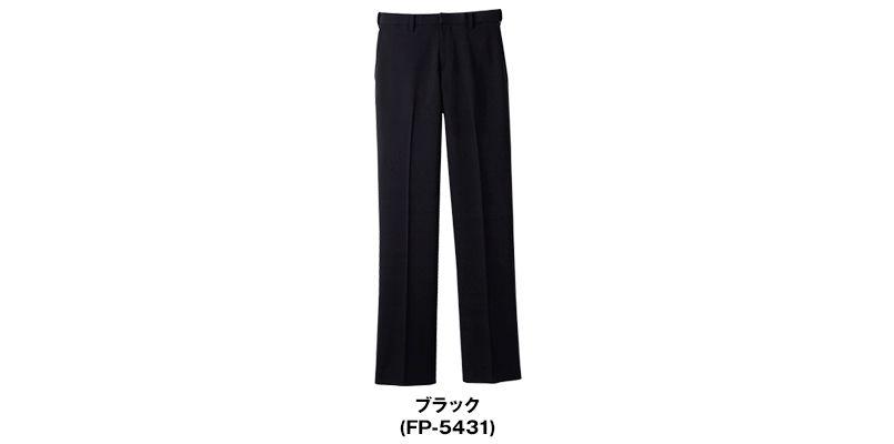 FP-5431 Servo(サーヴォ) ストレッチ黒パンツ(男性用)/股下フリー 色展開