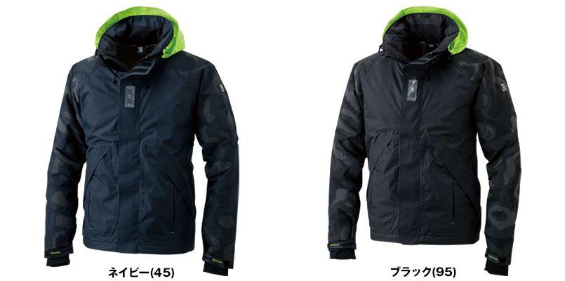 TS DESIGN 18236 メガヒートフラッシュ防水防寒ジャケット(男女兼用) 色展開