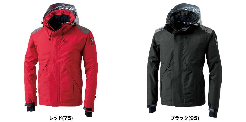 TS DESIGN 18246 メガヒートES防水防寒ジャケット(男女兼用) 色展開