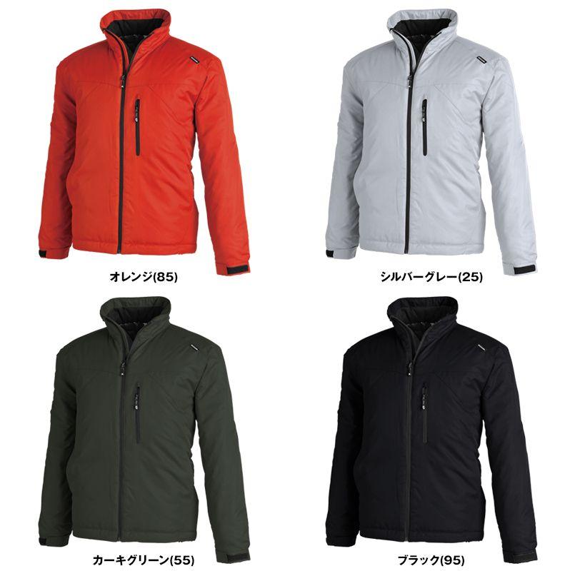 TS DESIGN 1826 防寒 メガヒートライトウォームジャケット(男女兼用) 色展開