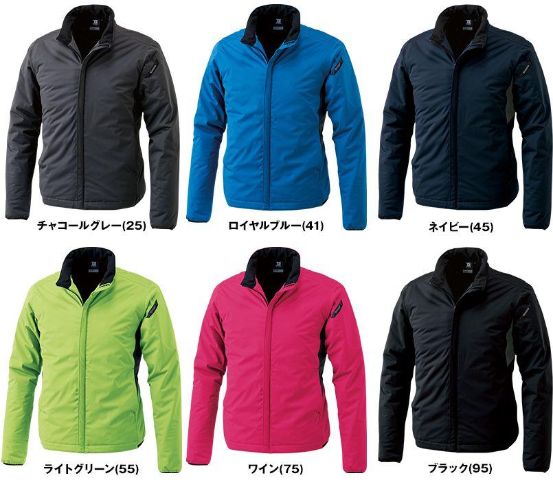 TS DESIGN 6626 防風ストレッチ ライトウォームジャケット(男女兼用) 色展開