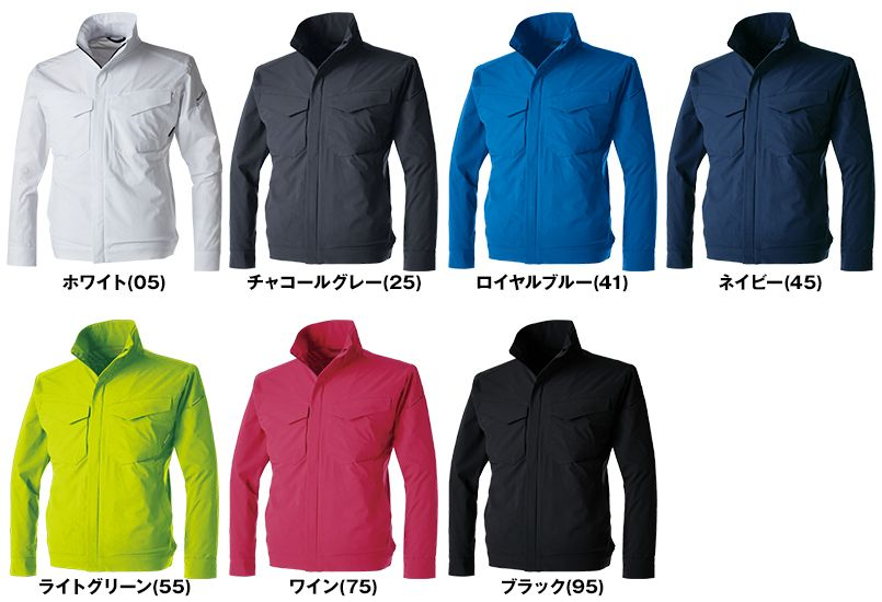 TS DESIGN 9116 [通年]TS 4D ジャケット 色展開
