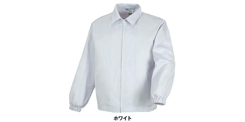 ジーベック 25215 長袖ファスナージャンパー(衿付)(男女兼用) 色展開