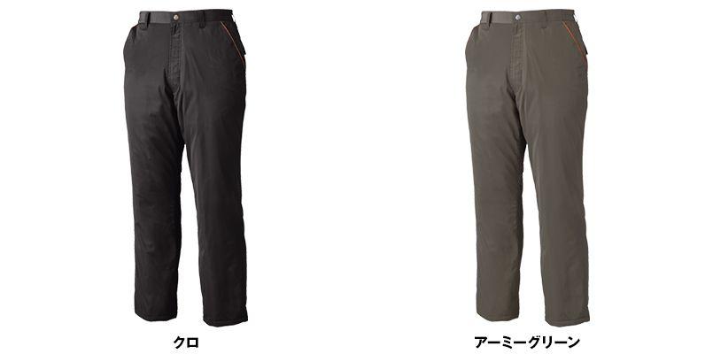 ジーベック 340 [秋冬用]超撥水防寒パンツ 色展開
