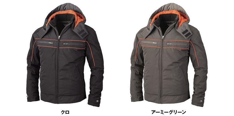 ジーベック 342 [秋冬用]超撥水防寒ライダースブルゾン 色展開