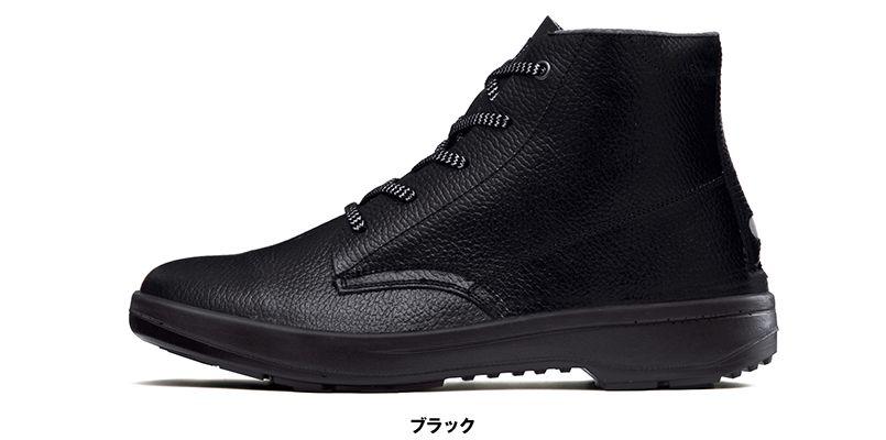 ジーベック 85022 安全中編上靴 樹脂先芯 樹脂先芯 色展開