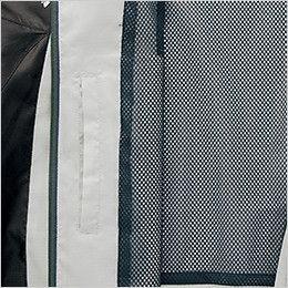 アイトス AZ10301 タルテックス フードインジャケット(薄地素材)(男女兼用) ポケット