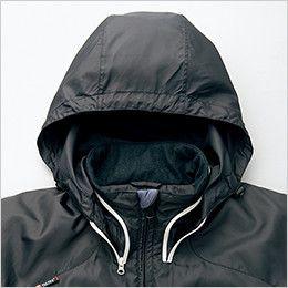 アイトス AZ10304 [秋冬用]タルテックス フードイン中綿ジャケット(男女兼用) フード付き