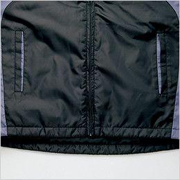 アイトス AZ10304 [秋冬用]タルテックス フードイン中綿ジャケット(男女兼用) バックタレ仕様