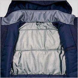 アイトス AZ10305 タルテックス リフレクションヒート防寒ブルゾン 衣服内に熱を蓄え高い保温力を持続する裏地アルミプリント