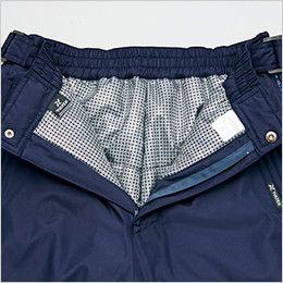 アイトス AZ10306 タルテックス リフレクションヒート防寒パンツ 熱を蓄え高い保温力を持続する裏地アルミプリント