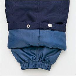 アイトス AZ10306 タルテックス リフレクションヒート防寒パンツ 寒気の侵入を防ぎ保温性を高める二重裾口
