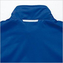 AZ10307 アイトス タルテックス [秋冬用]軽量防寒ジャケット 衿元に施されたリフレクター