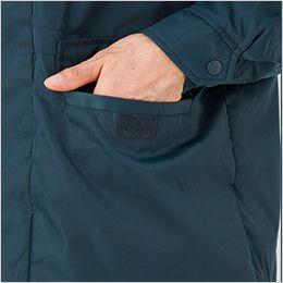 AZ10751 アイトス カストロコート ポケット付