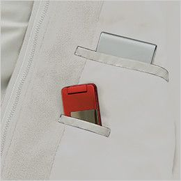 アイトス AZ1960 [秋冬用]3WAYショートコート(男女兼用) インナー内ポケット