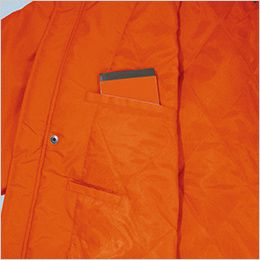 AZ1961 アイトス アーバンエクスプレス 中綿ブルゾン(男女兼用) ポケット