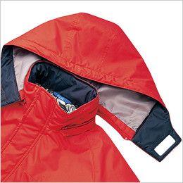 AZ50109 アイトス タルテックス 防寒ジャケット 取り外し可能なフード